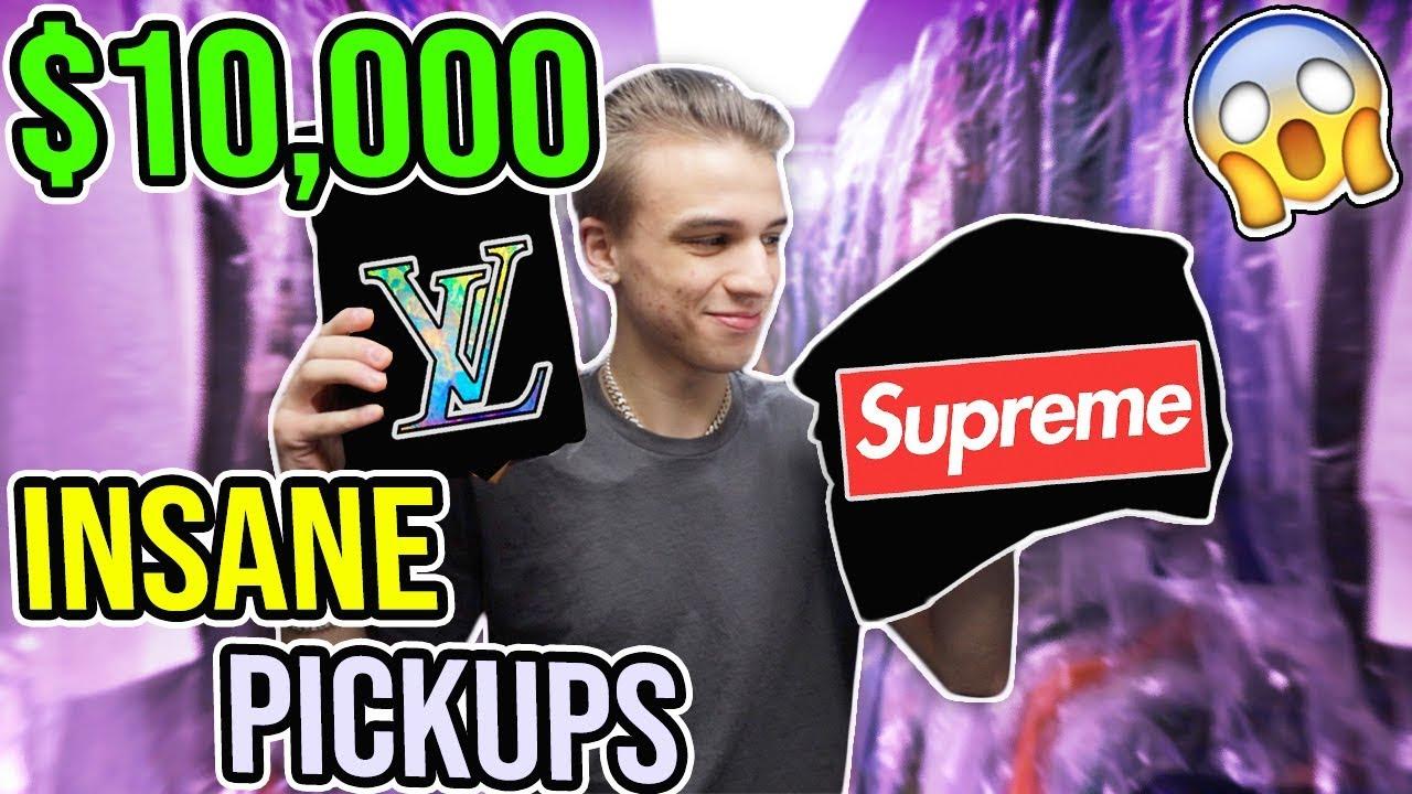 Buying a $10,000 Supreme Box Logo (MY RAREST EVER!!)