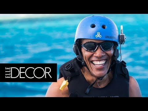Everywhere Obama Traveled Since Leaving the White House | ELLE Décor
