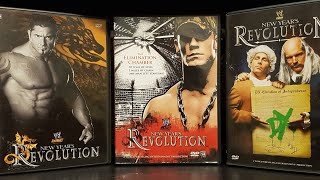 WWE New Years Revolution PPV DVD Collection 2005-2007