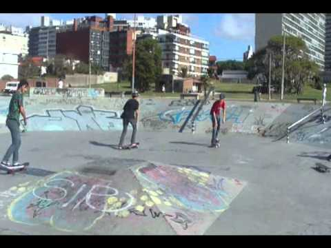 Mañana en buceo skate Las piedras Uruguay