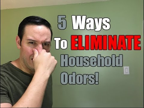 5 Ways To ELIMINATE Household Odors | Simple Odor Removal Tips