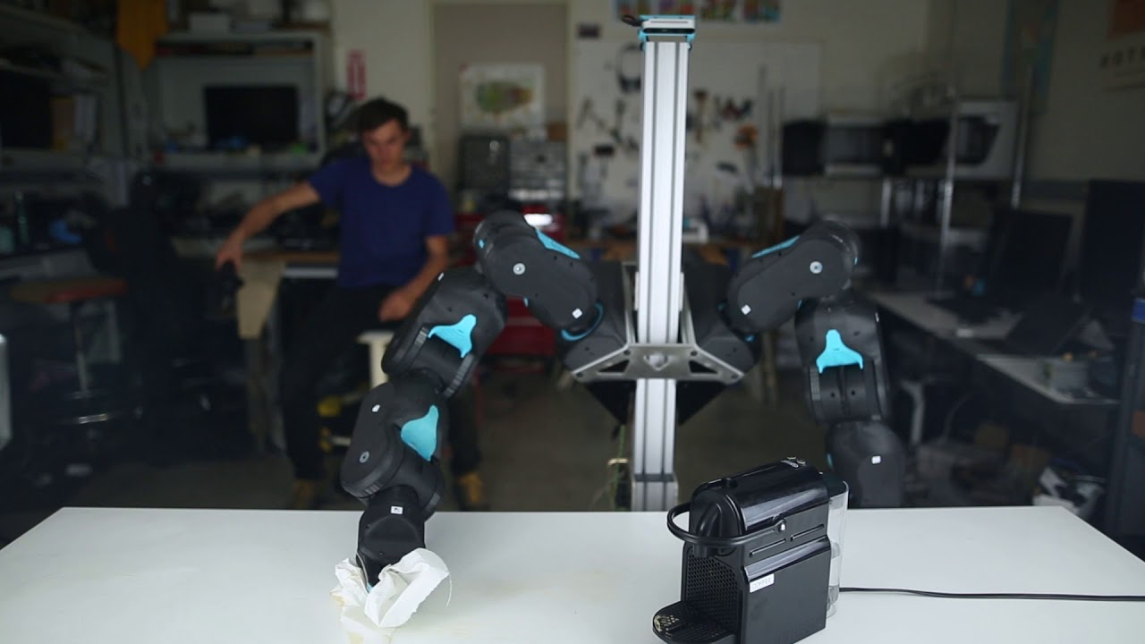 Blue Is a New Low-Cost Force-Controlled Robot Arm from UC Berkeley - IEEE Spectrum