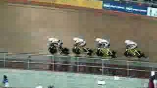 uci track world cup sydney team pursuit bronze ride off