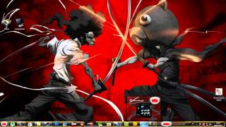 TEMA  AFRO SAMURAI WINDOWS 7 BY 30 LUCC