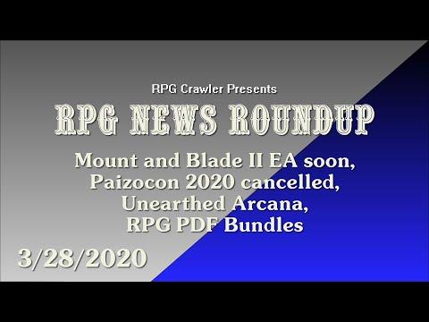 RPG News Roundup (3-28-2020)