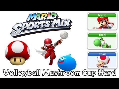 Mario Sport Mix - Volleyball - Mushroom Cup Hard
