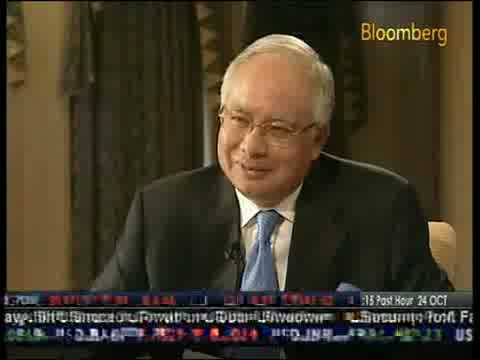Bloomberg Voices : Dato' Seri Najib Tun Razak (Part 2)  (24-10-2008)