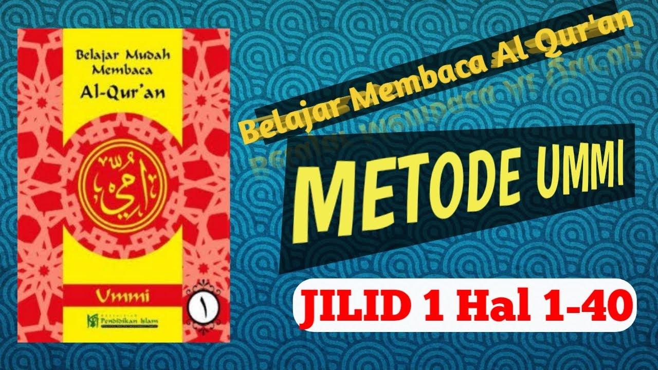 Download Jilid 1 Metode UMMI VERSI PELAN