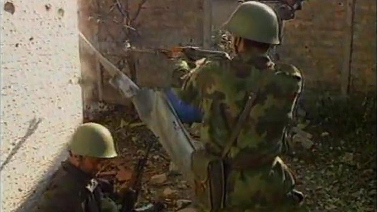 The Bosnian War (1992–1995) Rare Combat Footage