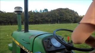 Ramasage des vaches 2015 + John deere 1140 sound