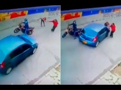Conductor embistió a ladrona que intentaba robar el bolso a una mujer en el sur de Bogotá