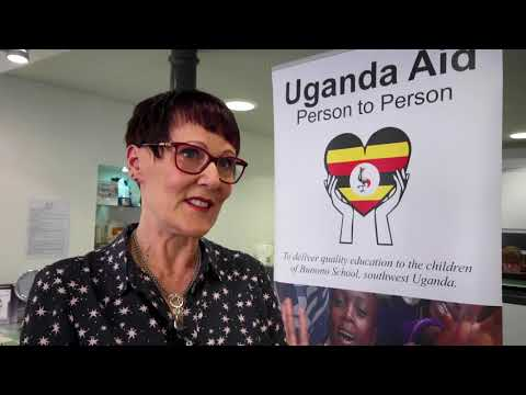Forres trio visit Uganda to continue school projects
