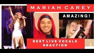 MARIAH CAREY - BEST LIVE VOCALS (REACTION)