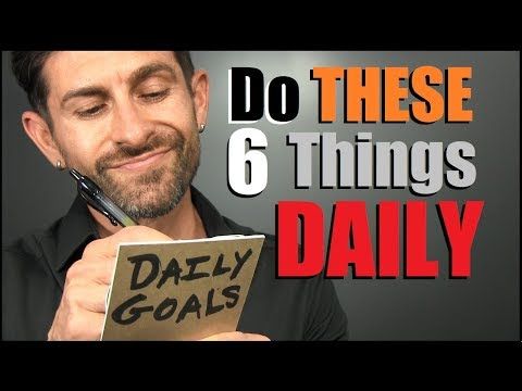 6 Things Men Should Do DAILY! (To Be MORE Confident)