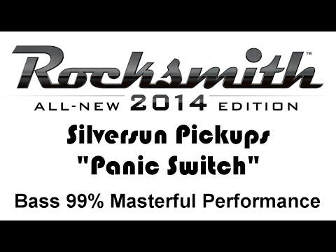 """Silversun Pickups """"Panic Switch"""" Rocksmith 2014 Bass 99%"""