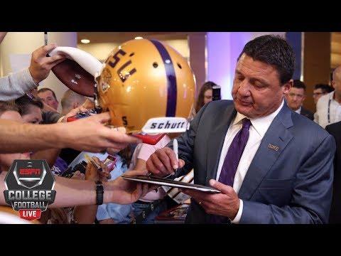 David Pollack approves of Ed Orgeron handling discipline internally | College Football Live | ESPN