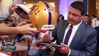 David Pollack approves of Ed Orgeron handling discipline internally   College Football Live   ESPN