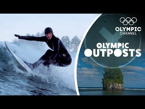 Is it Possible to surf the freezing cold waters in Canada? | Olympic Outposts