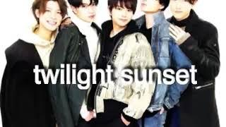 Twilight Sunset (SexyZone)エフェクト