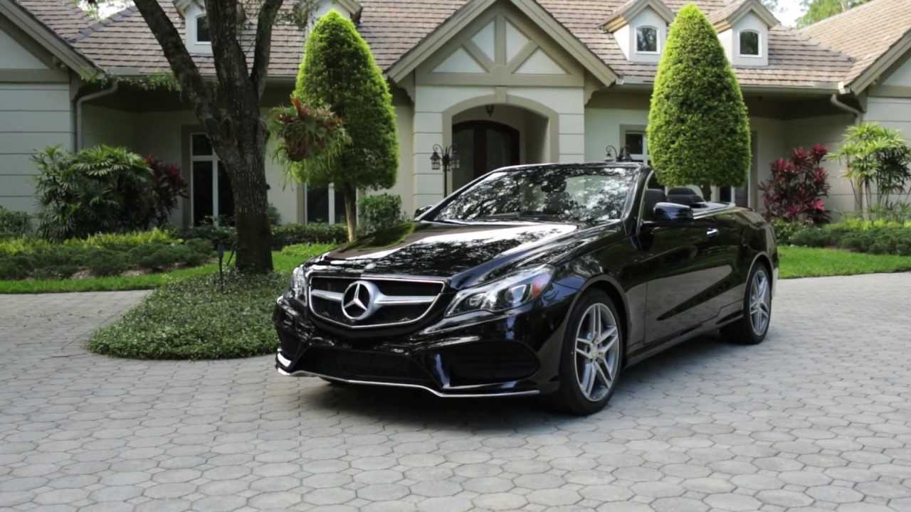 2014 e class cabriolet mercedes benz convertible youtube for Mercedes benz hardtop convertible 2014