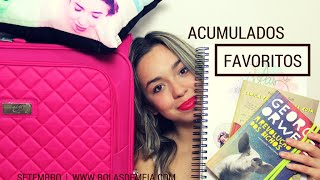 Favoritos acumulados de Setembro | Ana Arantes