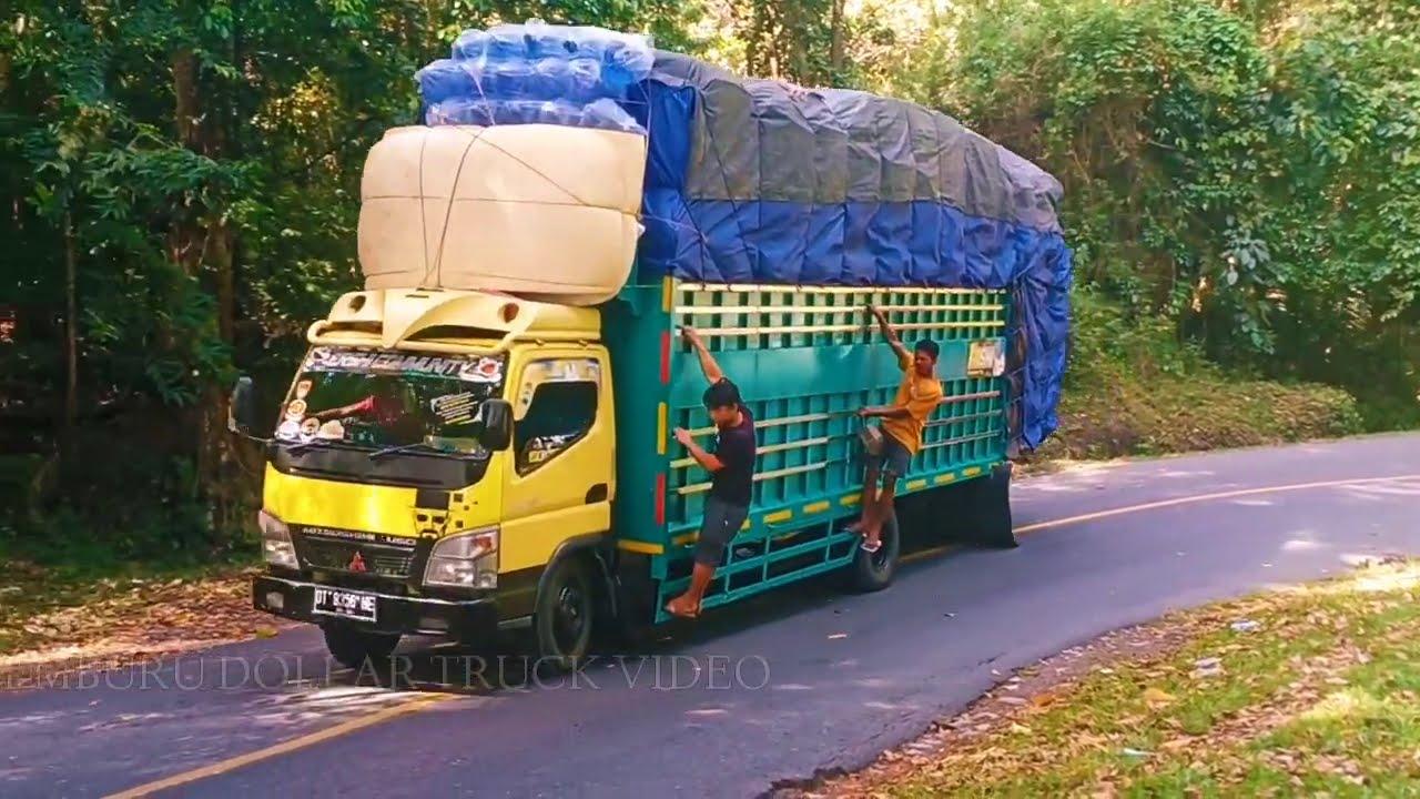 Begini kondisi Zhumpallabbu saat truck besar tidak diantar joki||Macett!!!
