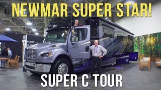 Newmar Super Star Super C RV - Detailed Tour & Impressions from RVX