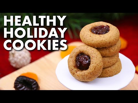 Healthy Holiday Cookies 3 Ways | Gluten Free Christmas Cookies!