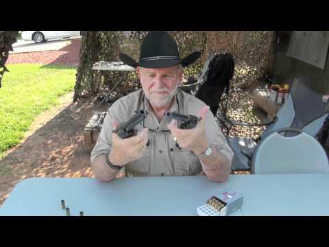 Uberti Cattleman .45 Colt Revolver Shooting