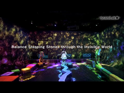 Balance Stepping Stones through the Invisible World 4k