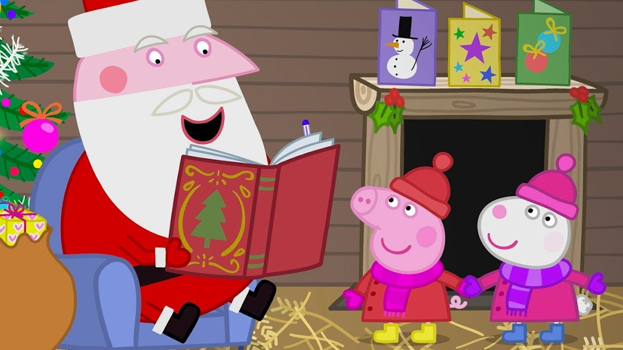 Peppa Pig Natale.Peppa Pig Francais Episode Special De Noel Dessin Anime Peppa Noel Youtube