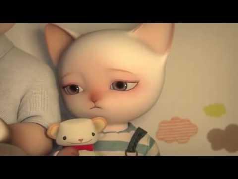 Мультфильм про кошку и котят дисней