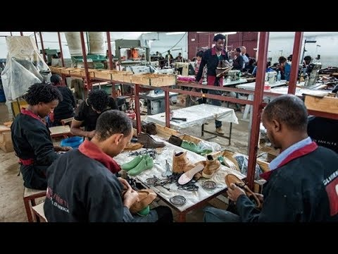 Ethiopians are turning their face to locally manufactured shoes and other leather products thumbnail