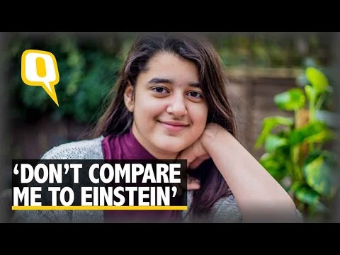 The Quint: Modest Genius of Indian Origin Keeps Her Intelligence a Secret