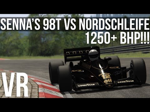 Assetto Corsa - How Fast Can Senna's Lotus 98T Lap The Nordschleife?