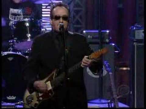 "Elvis Costello -""..Working Week/...Go To Chelsea"" Letterman"