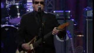 "Elvis Costello -""..Working Week/...Go To Chelsea"" Letterman"