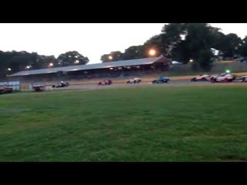 A lap around KRA Speedway