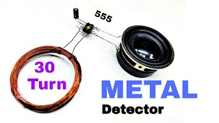 How to make extra sensitive metal detector