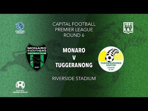 2019 Capital Football Premier League - U20's and 1st Grade Round 6 - Monaro FC v Tuggeranong FC