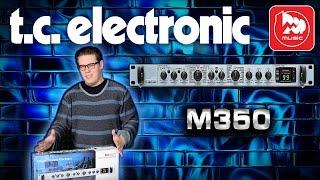 TC ELECTRONIC M350 - подробный обзор процессора эффектов