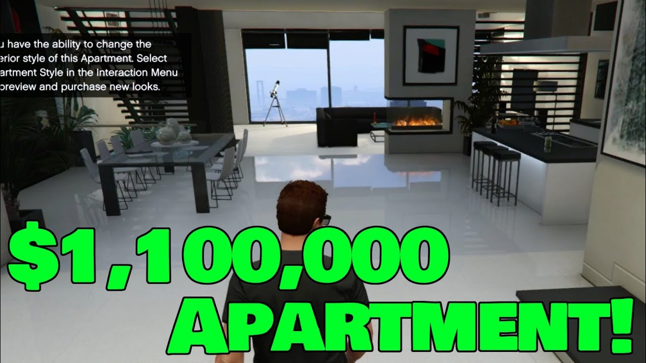 I Bought the MOST EXPENSIVE APARTMENT + Tour!! - GTA 5 ...