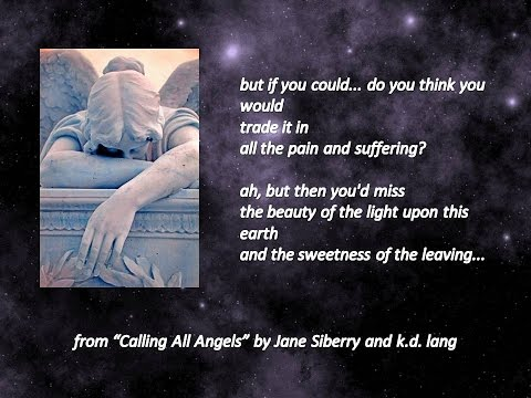 "Jane Siberry-K.D. Lang "" Calling All Angels"""