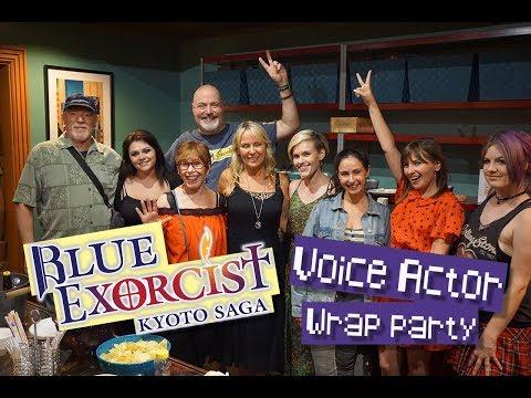 Blue Exorcist Kyoto Saga Voice Actors Wrap Party!