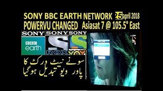 Sony Network 2019 NDS Software-Updates   AsiaSAT 7 Powervu Toets 2019