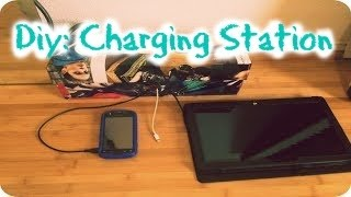 Diy: Easy Charging Station 🔌 | Allison Reyes