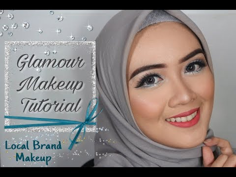 GLAMOUR MAKE UP TUTORIAL [LOCAL BRAND MAKE UP - INDONESIA]