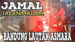 Jalan Malam Di Kota Bandung Hari ini New normal Pakai Motor