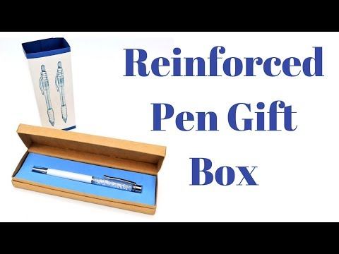 Pen Gift Box | Watch Gift Box | Fathers Day Ideas | Craft Fair Ideas