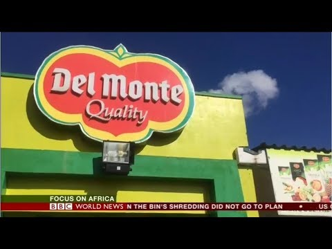 Del Monte in Land Issues Kenya - BBC World News